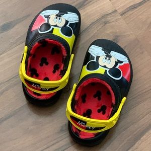 Mickey Mouse Crocs - Toddler 8/9